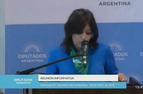 «En La Rioja un aborto cuesta entre 35 y 50 mil pesos»