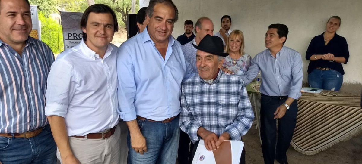 Julio Martínez focaliza su agenda política en el interior provincial