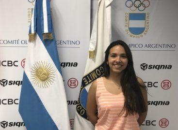 Fernanda Russo, embajadora argentina en los Juegos Olímpicos de la Juventud