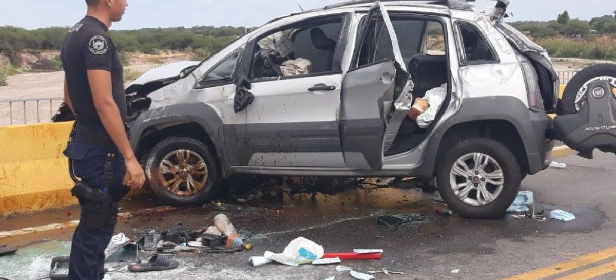 Riojana muere en un terrible accidente vial en Catamarca