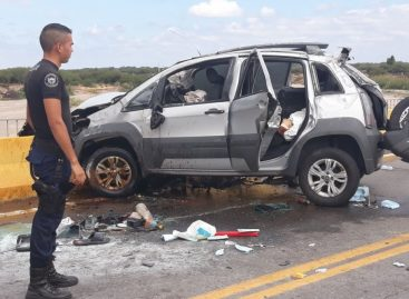Riojana muere en un terrible accidente vial en Catamarca