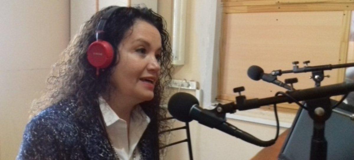 Tere Luna: «podría votar a Julio Martínez gobernador»