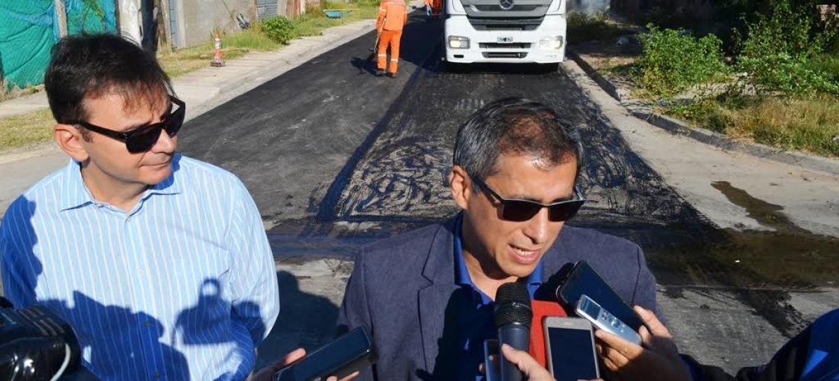 Paredes elogió a Nación por el envío de obra pública a la Capital