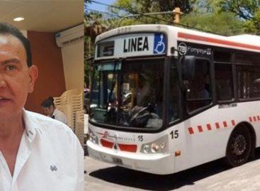 Diputados pidió informes a 'Lito' Asís por subsidios al Transporte Público