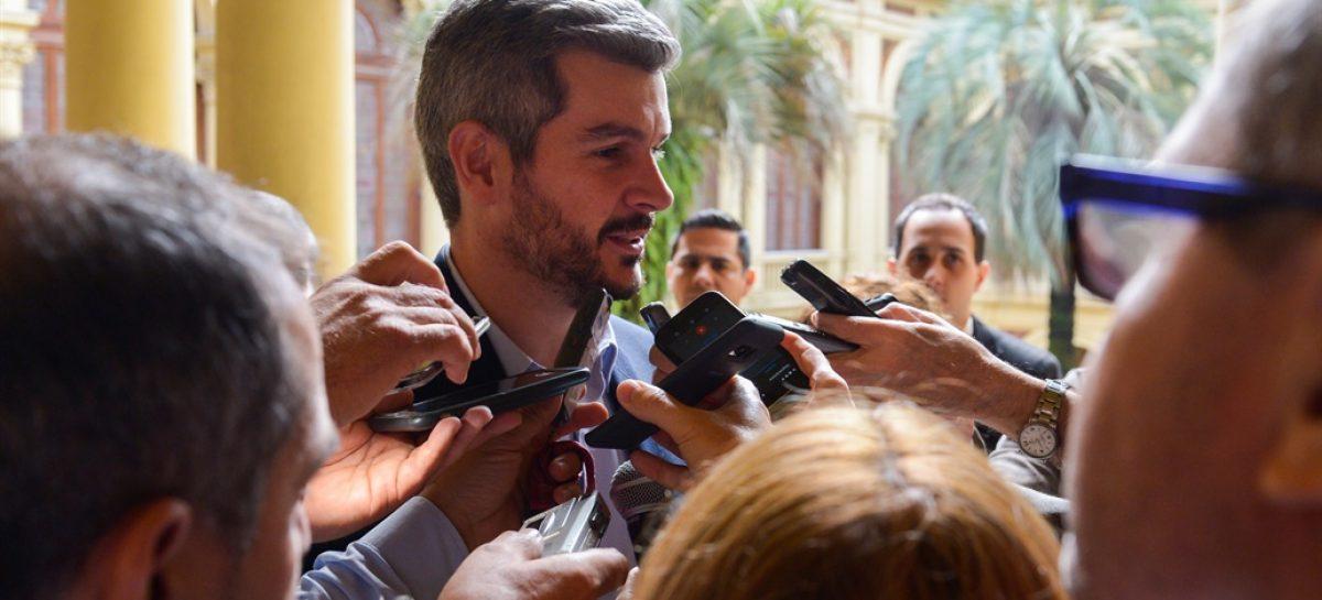 Peña negó cambios en el gabinete macrista y minimizó la suba del dólar