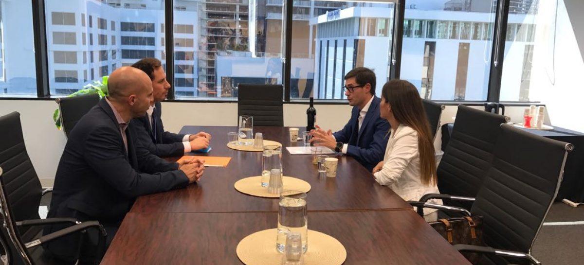 La Cámara Empresarial Riojana busca abrirse mercado en Estados Unidos