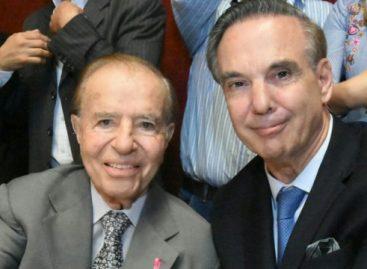 Este jueves Menem presenta su libro donde repasa su vida política
