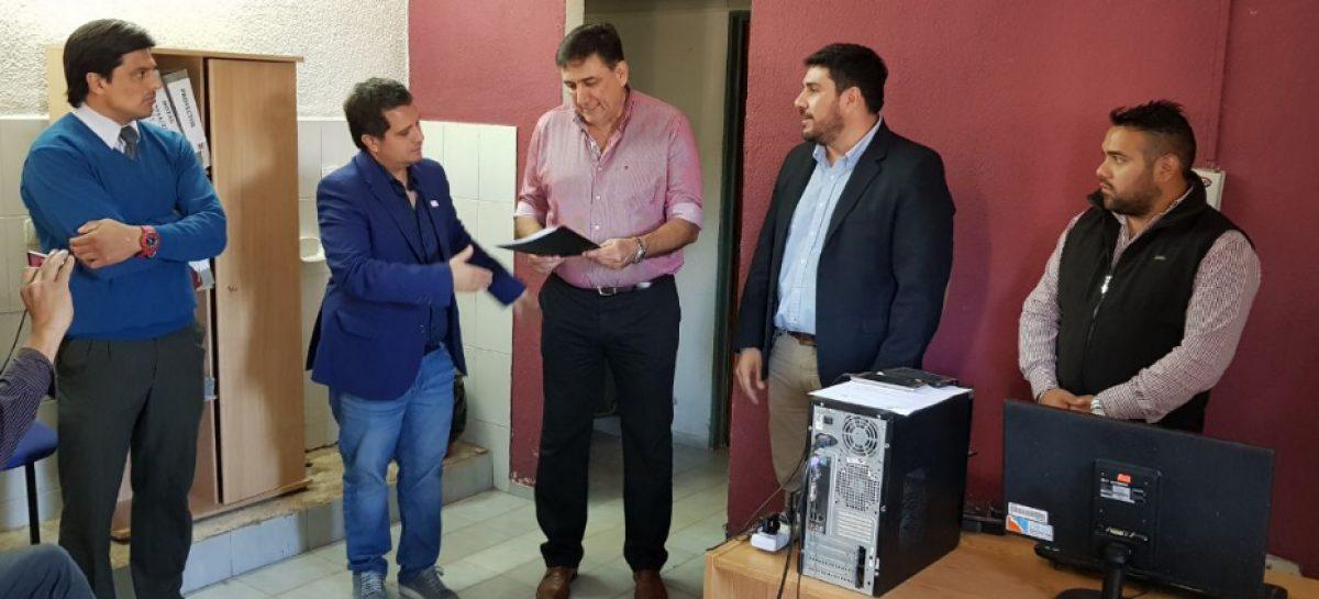 El municipio sumó otro dirigente bosettista entre sus funcionarios