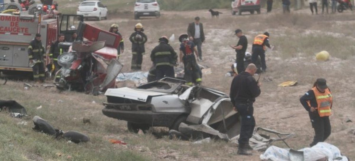 Riojano pierde la vida en un terrible accidente en San Juan