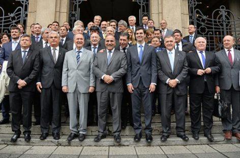 PJ. Gobernadores del PJ aceptan acuerdo FMI-Macri, pero ponen condiciones