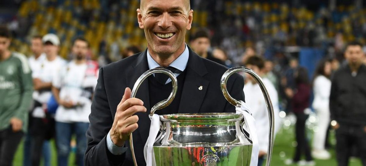 Zidane dejó de ser DT del Real Madrid