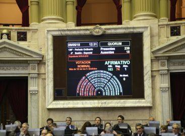 Con apoyo riojano, la Cámara Baja del Congreso aprobó el freno al 'tarifazo'