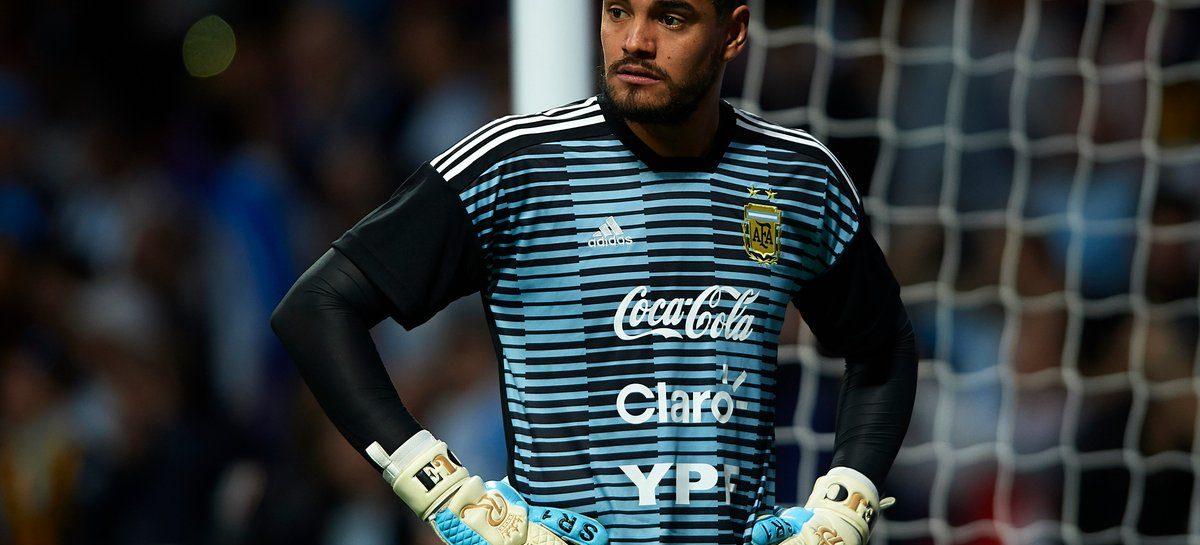 Sergio Romero se lesionó y se queda afuera del Mundial de Rusia