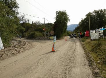 Anti mineros sumaron otro corte de ruta 'selectivo' en Chilecito