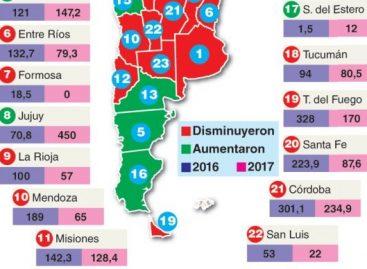 La Rioja, entre las menos favorecidas por ATN de Casa Rosada