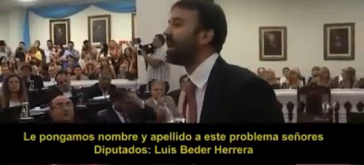El Discurso de Felipe Álvarez en la Legislatura