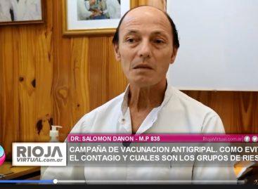DR DANON. CAMPAÑA DE VACUNACION ANTIGRIPAL