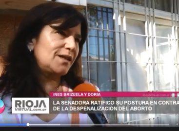 """Ines Brizuela y Doria se expresó """"a favor de la vida"""""""