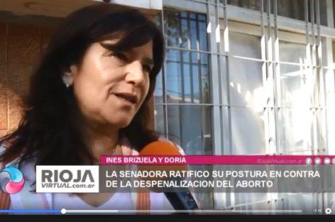 Ines Brizuela y Doria se expresó «a favor de la vida»