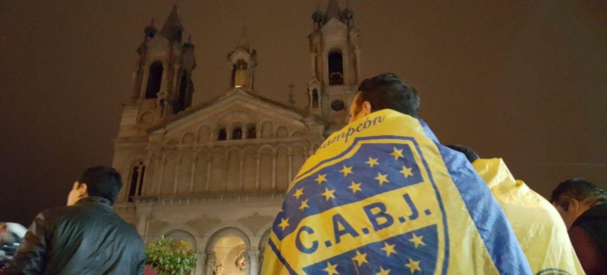 El campeonato de Boca tuvo un festejo masivo en La Rioja