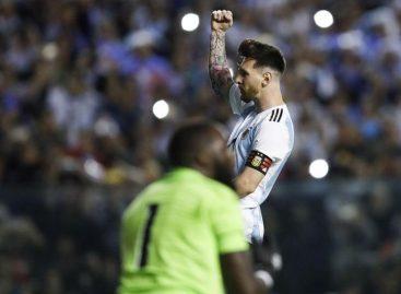 Argentina-Haití: la selección se impuso con goles de Messi y Agüero