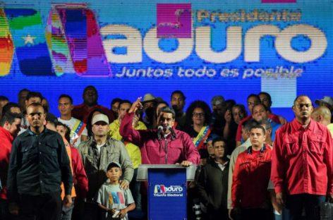 Venezuela. Maduro gana las elecciones, pero la oposición no convalida