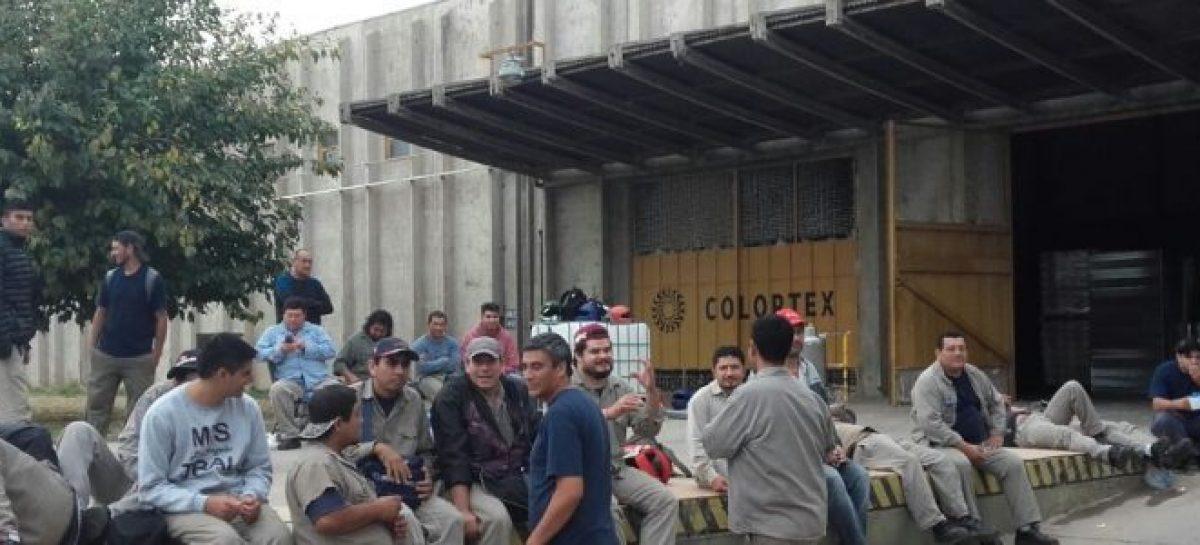 Colortex volvió a cesantear operarios: 14 despidos