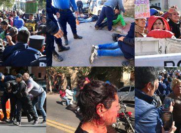 Graves incidentes con heridos y detenidos tras un acto oficial