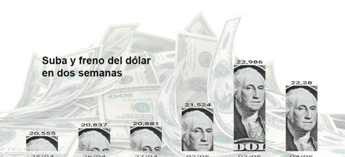 El Banco Central intervino y logró hacer caer la cotización del dólar