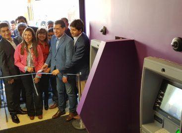 Aimogasta. Banco Rioja amplió su red de cajeros automáticos