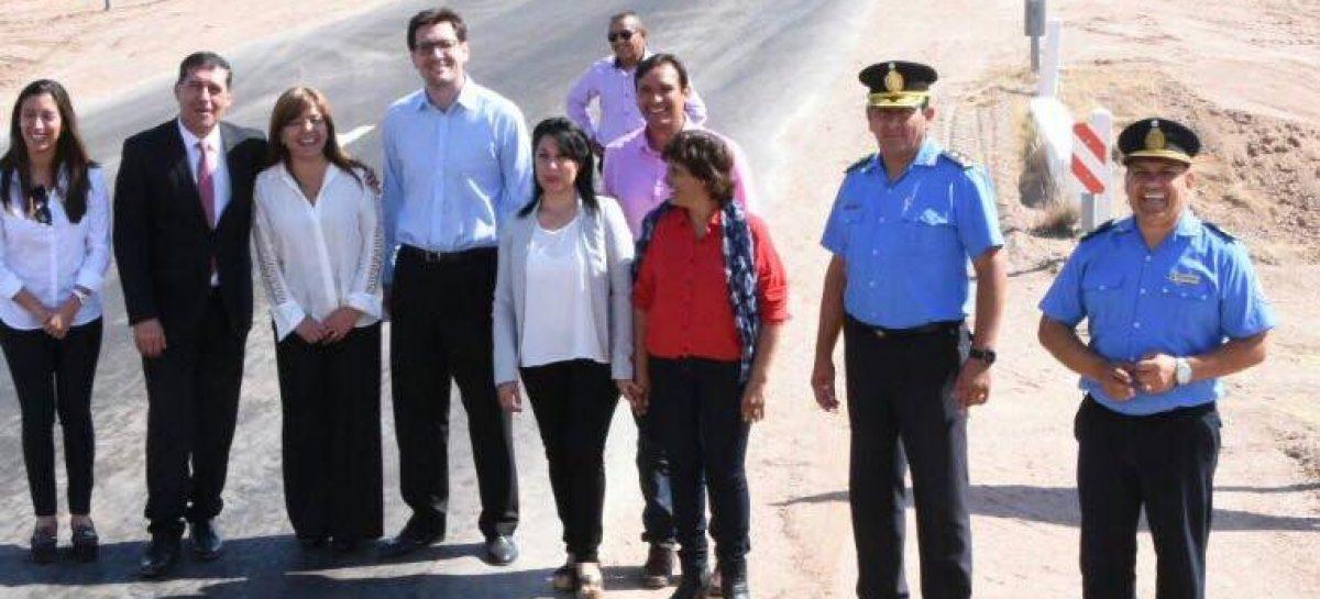 Avanza el reasfaltado de una ruta nacional clave en el territorio provincial