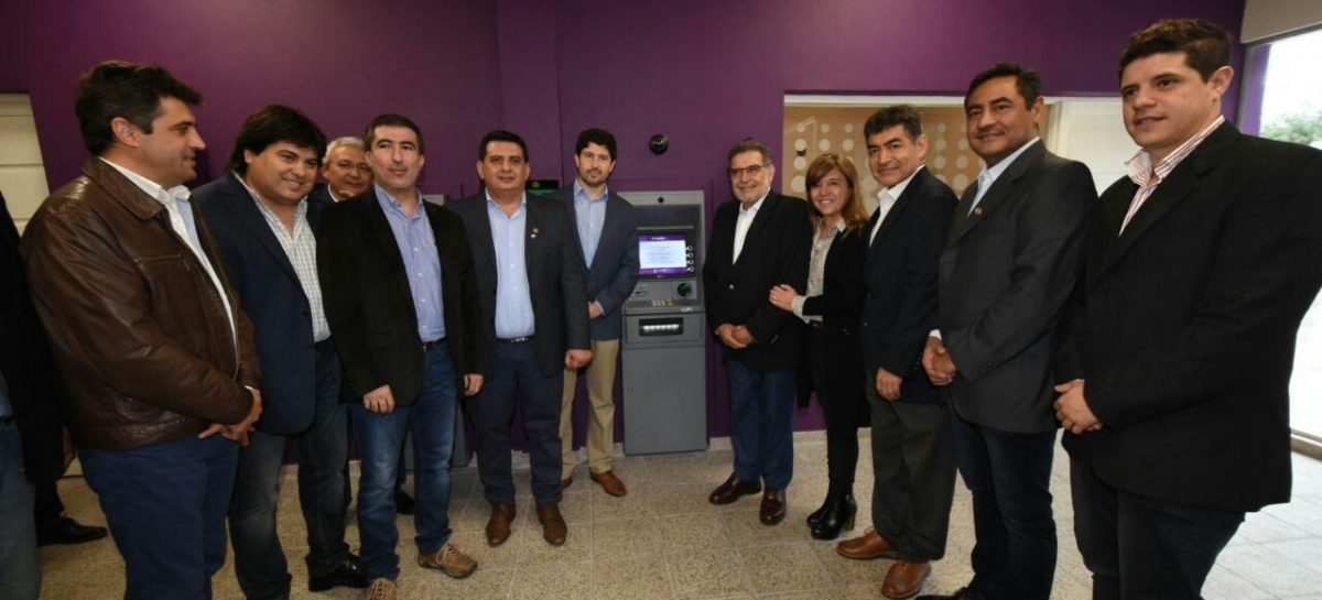 Banco Rioja habilitó un Centro de Servicios en Ulapes