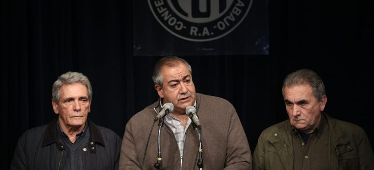 La CGT anunció un paro nacional y adhieren gremios riojanos
