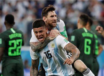 Argentina logró una agónica clasificación a octavos de final