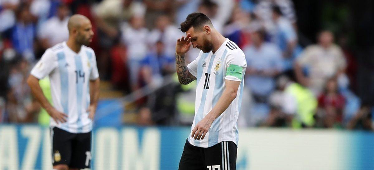 Siamo Fuori. Argentina perdió y fue eliminada por Francia