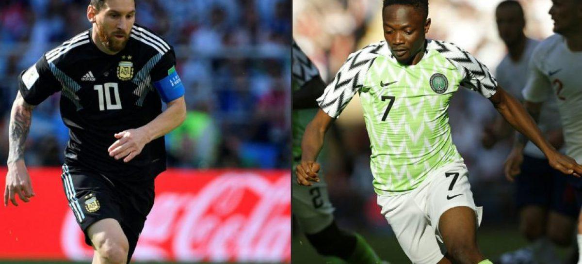 Argentina enfrenta a Nigeria, a todo o nada