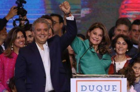 Colombia eligió nuevo Presidente, Iván Duque