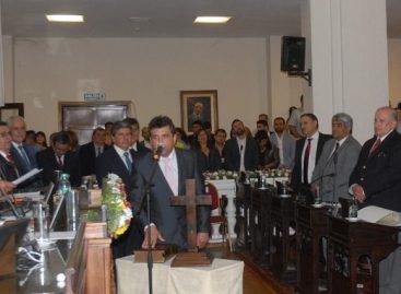 Marcelo del Moral fue ratificado en la presidencia del bloque del PJ