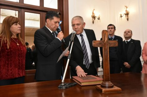El gobierno riojano puso en funciones al nuevo ministro de Hacienda