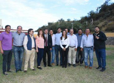 Intendentes ratificaron su pleno alineamiento a Sergio Casas