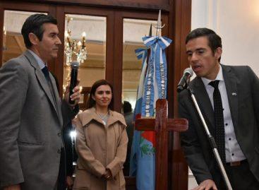 Carlos Oropel asumió como secretario de Gobierno
