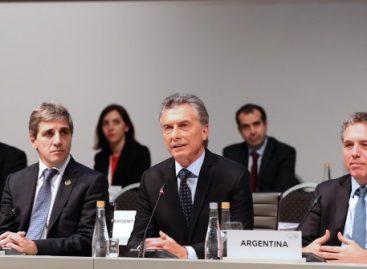 "Macri agradeció el "" fuerte respaldo"" internacional"