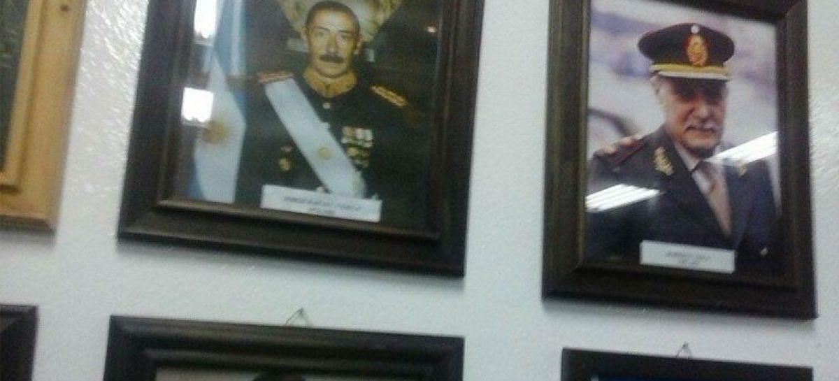 Un cuadro de Videla generó polémica en una escuela pública riojana