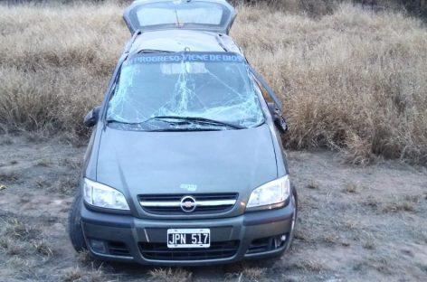 Familia sufrió un terrible vuelco rutero cerca de Talamuyuna