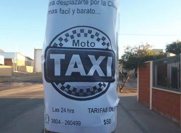 En La Rioja se puso en funcionamiento el sistema de mototaxi