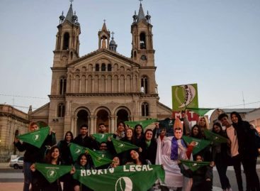 Aborto Legal. Pañuelazo verde con escasa convocatoria