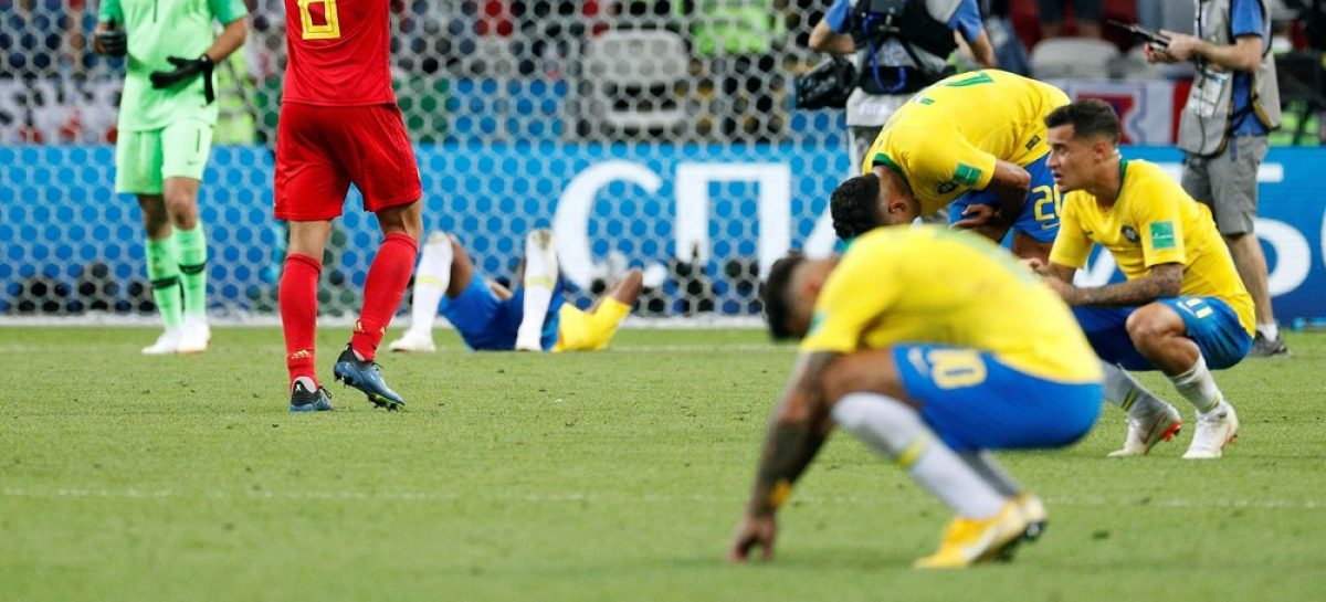 Brasil y Uruguay, eliminados de la Copa del Mundo