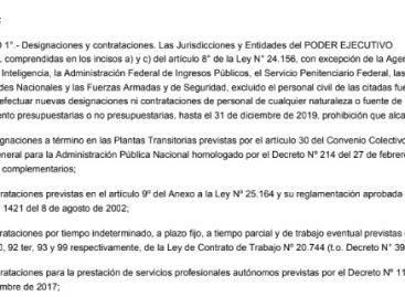 Nación lanzó otra etapa de recortes gastos
