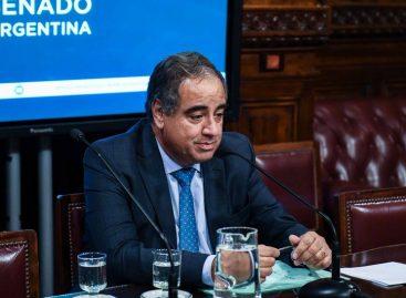 """""""No hay tiempo de internas en la oposición"""", dijo Julio Martínez"""
