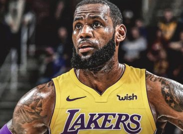 LeBron James a Los Angeles Lakers